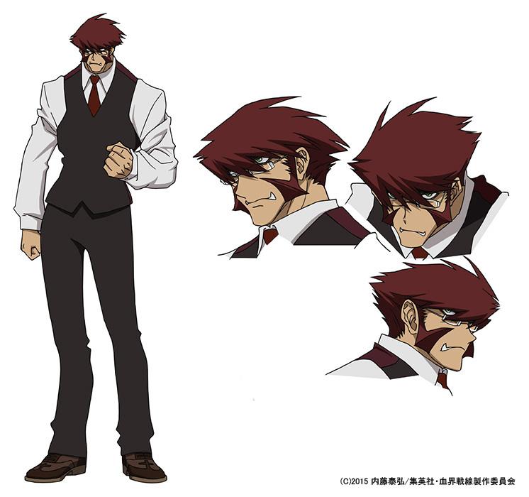 TVアニメ『血界戦線』キャラクター設定画像公開!キャスト情報第2弾を発表!