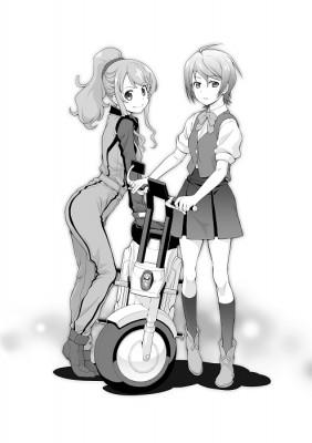 Classroom☆Crisis コミカライズ予告カット
