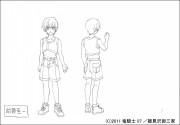 OVA ひぐらしのなく頃に煌 キャラクター設定画像