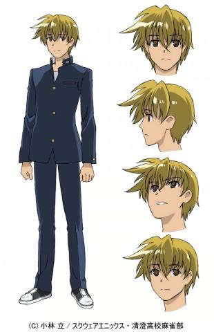 咲-Saki- キャラクター設定画像
