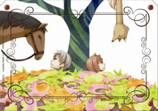 狼と香辛料Ⅱ DVD EDイラストカード