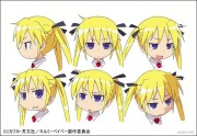 キルミーベイベー キャラクターカラー設定画像