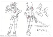 OVA ToHeart2 ダンジョントラベラーズ キャラクター設定画像