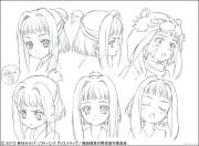 織田信奈の野望 キャラクター設定画像 前田犬千代