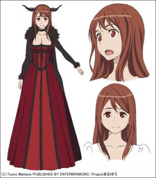 まおゆう魔王勇者 キャラクターカラー設定画像