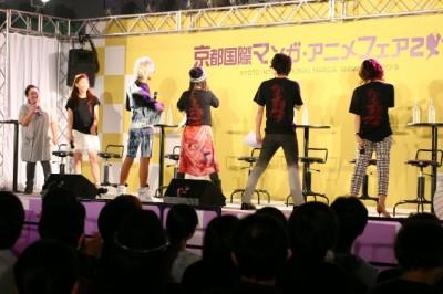 京まふ2013『京騒戯画』TVアニメ化制作発表記念イベント