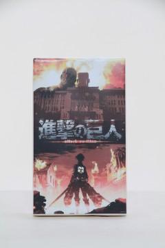 進撃の巨人ちりめん餅(パッケージ)