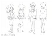 OVA『ひぐらしのなく頃に煌』 キャラクター設定画像