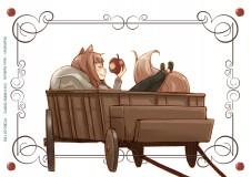 狼と香辛料 エンディングアニメイラストカード