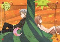狼と香辛料Ⅱ DVD3巻カード