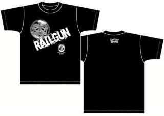 「レールガン」Tシャツ Rgn-T03 ロゴ柄