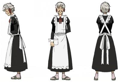 ウキ メイド服