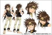 最新作OVA『最遊記外伝』キャラクターカラー設定画像