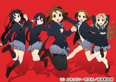 映画 けいおん! 2011年12月3日(土)公開決定!