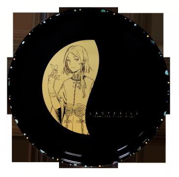 ディーオ 螺鈿付丸盆(高岡漆器)