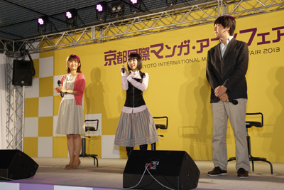 劇場版 魔法少女まどか☆マギカ [新編]叛逆の物語 スペシャルトークショー in 京都